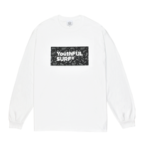Bandana Box Logo Long Sleeve Tee / White