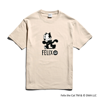 FELIX THE CAT × YouthFUL SURF® Collaboration Tee / Sand