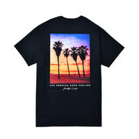 Los Angeles photo graphic Tee / Black