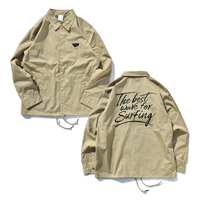 Coaches Jacket【Beige】