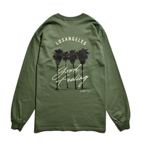 Los Angeles Good Feeling Long Sleeve Tee / Washed Green