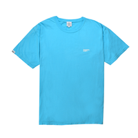 Small Logo Pigment Dyed Tee / Washed Marine