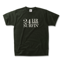 24HR SURFIN'  Tee  【Smorke Black】