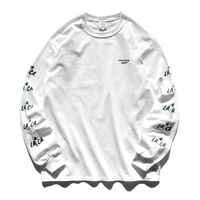 LA.CA Long Sleeve Tee【White】