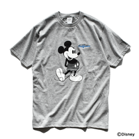 Mickey Mouse Tee  【Gray】