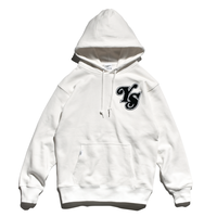YS Logo Heavy weight Hooded Sweatshirt / Off White