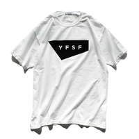 YFSF STANDARD Logo Pigment Dyed Tee【White】
