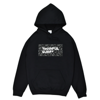 Bandana Box Logo  Hooded Sweatshirt / Black