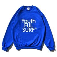 【予約商品】Century Logo Crew Neck Sweatshirt  / Royal Blue