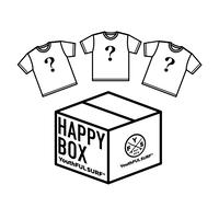 【数量限定】HAPPY BOX Tシャツ3点セット
