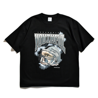 American Football Relax Fit Tee / Black
