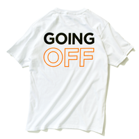 Going Off Tee【White】