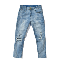 Cut off Light Weight Denim