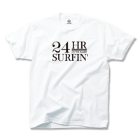 24HR SURFIN'  Tee  【White】
