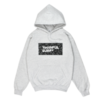 Bandana Box Logo  Hooded Sweatshirt / Ash