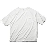 Big Silhouette Pocket Tee / White