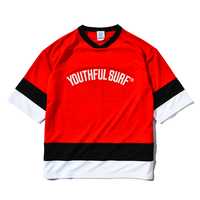 Hockey Dry Tee / Red × Black ×White