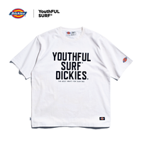 Dickies®×YouthFUL SURF® Premium Relax Fit Tee / White