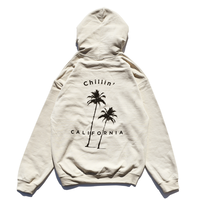 Chillin' california  Hooded Sweatshirt / Sand