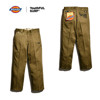 Dickies®×YouthFUL SURF® Collaboration Work Pants / Vintage Khaki