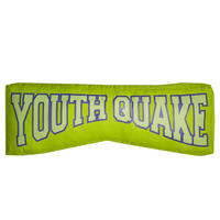 COLLEGE LOGO CUSHION (GREEN)
