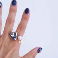 swarovski C ring