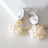 freshwater pearl ball pierce