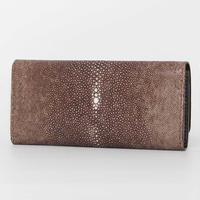 ブラウン・ネイビー《長財布:アウロラ》