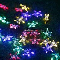 LED 屋外ソーラーランプ Led ストリングライト ホリデークリスマスイルミネーション_6m