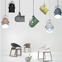 北欧ミニマリズムつりランプ角度調整可能な E27 小さなペンダントライト、家の装飾照明ランプとバーショーケーススポットライト
