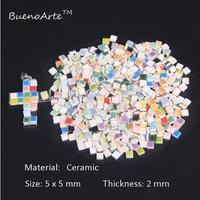 セラミックモザイクタイル DIYに最適な手作り装飾材料_グラデーション526個セット