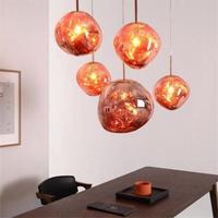 ヨーロッパガラスのペンダントライト led 3 色で E27 ベッドルーム/レストラン/リビングルーム/ ダイニングルーム/カフェ_30㎝タイプ