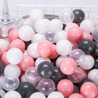 環境にやさしいカラフルなベビーボール♪ソフトプラスチック オーシャンボール_100 ピース