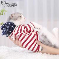 ペットの猫の服 アメリカンデザイン 猫 暖かいパーカー トレーナー コート 子猫の猫
