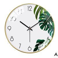 壁かけ時計 ゴールドノルディックスタイル リビングルーム ベッドルーム サイレント時計_35cmType