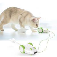 猫のおもちゃ 電気マウス 玩具 おかしい回転のおもちゃ