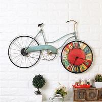 おしゃれな自転車 レトロ壁掛け時計 インテリアにもなるおしゃれな壁時計