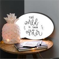 Ledランプ 手書きのメッセージが書ける!3色ペン付き_Lサイズ