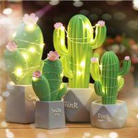 ロマンチックなサボテン Ledライト クリスマスプレゼントにも_4Type
