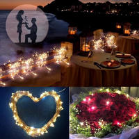 LED 屋外ソーラーランプ Led ストリングライト ホリデークリスマスパーティー 花輪ソーラー 庭防水ライト_11m