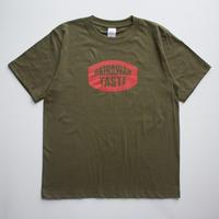 OKINAWAN TASTE ロゴTシャツ(Sitygreen×Red)
