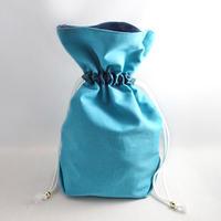 セーラーネプチューン風マチ付き巾着袋