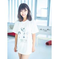YSPO-Tシャツ Shoot_White