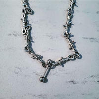 Barbed Wire Necklace