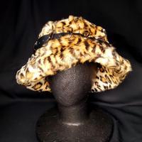 【ARTRICK×ニュリカデリック】Fur D.Belt Hat (leo)