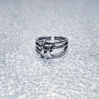 SILVER 925  Tie Ring