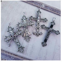 【片耳用】Single CROSS Pierce