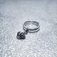 SILVER 925 Crown Ring