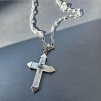 SILVER925  Shell Cross Necklace
