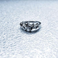 SILVER 925  5Star Ring